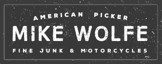 American Picker Mike Wolfe - Fine Junk and Motorcycles